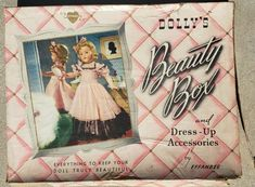 Effanbee Dolls, Beauty Box, 1940s, Doll Clothes, The Unit, Baby Dresses