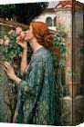 John William Waterhouse The Soul of the Rose Prints for sale - paintingandframe.com