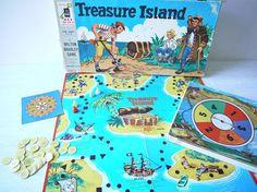 Vintage Treasure Island Board Game - Milton Bradley 1956...................................................................Please save this pin... ........................................................... Visit!.. http://www.ebay.com/usr/prestige_online