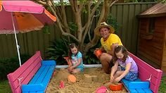 DIY: sand pit seat - Better Homes and Gardens - Yahoo!7
