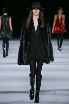 Saint Laurent | Fall 2014 Ready-to-Wear Collection | Style.com [Photo: Gianni Pucci / Indigitalimages.com]