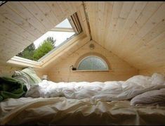 Best idea for a tiny attic space.