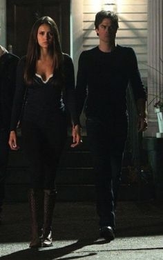 "Elena's Charles David Regiment Lace Up Boots  Vampire Diaries Season 4, Episode 15: ""Stand by Me"""