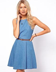 Enlarge Oasis Sleeveless Skater Dress