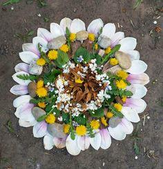art by Ildy: virágmandala Floral