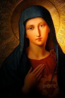 .Oh Immaculate Virgin Mary, Mother of our Lord Jesus Christ and our Mother