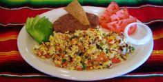 Machacado con huevo, desayuno a la mexicana en el Norte de la República