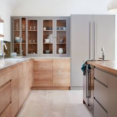 10 Beautiful Rooms MAD ABOUT . . . 10 BEAUTIFUL ROOMS 5TH FEBRUARY 2018 wooden cupboards by nakedkitchens wooden cupboards by nakedkitchens A few kitchens now because who doesn't dream of the perfect kitchen? Starting with Naked's natural wood and soft grey. The grain on the doors is just wonderful and you could paint the units in any colour you like if you tired of the grey and it would still work.
