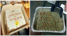 30 Hilarious Farewell Cakes That Employees Got On Their Last Day At The Office