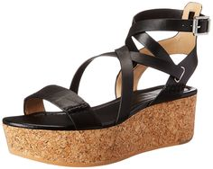 CK Jeans Women's Lila Wedge Sandal >>> Discover this special product, click the image : Strappy sandals
