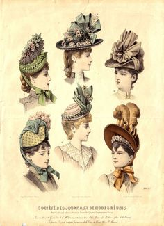 Victorian Hats                                                                                                                                                                                 More