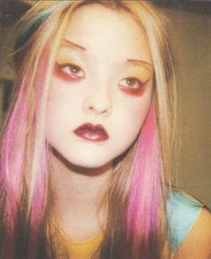 Photo of Devon Aoki by Stephane Marais, 1999, via The Clarity Pursuit.