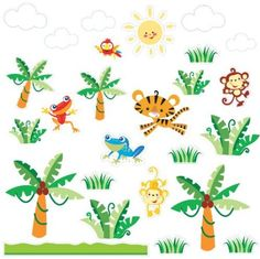 Rainforest Wall Stickers