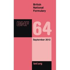 British National Formulary (BNF) 64