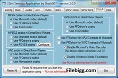 Free Download Software STANDARD Codecs 2.8.4 - filebigg.com