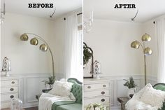 Install Crown Molding Add value and architectural interest to your home by installing crown molding. It's extremely affordable to buy and the hardest part is just measuring correctly — there's no need to hire a contract for this renovation! Trendy Home Decor, Interior Decorating, Interior Design, Decorating Hacks, Interior Columns, Diy On A Budget, Simple House, Home Improvement Projects, Home Renovation