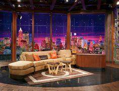 Tv Talk Show Sitting Area