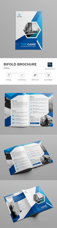 Bifold Brochure - Corporate Brochures Download here : https://graphicriver.net/item/bifold-brochure/19652446?s_rank=90&ref=Al-fatih