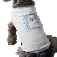 #Samoyed Puppy Tee - #puppy #dog #dogs #pet #pets #cute #doggie #doggieshirt