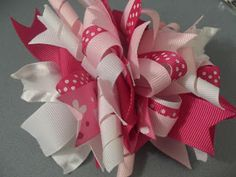 How to make a funky loopy bow | Blog