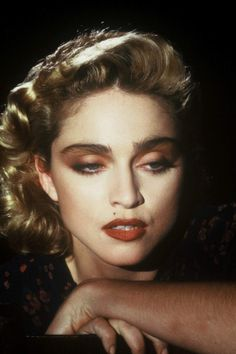 Madonna photographed by Herb Ritts on set of Live to Telll, 1986