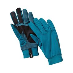 For cycling! Patagonia Wind Shield Gloves - Underwater Blue UWTB