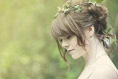 Cottingley Fairies inspired woodland wedding photoshoot