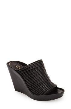 Rachel Zoe 'Keyla' Leather Wedge Sandal