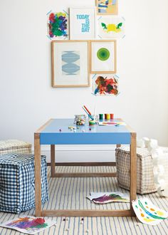 Shop the eye-catching Wall Art collection from Serena & Lily, including Original watercolors, expressionistic oil paintings, charming seascapes, & more. Bunker Bed, Playroom Design, Kids Decor, Home Decor, Inspiration For Kids, Kid Spaces, Kids Room, Child Room, Accent Colors
