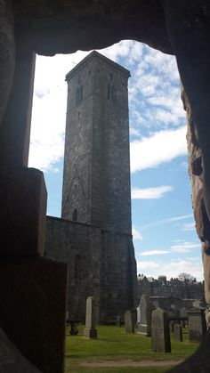 St. Andrews Cathedral in St Andrews, Fife
