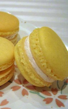 Recipe for Eggnog Macarons - Eggnog macarons that are perfectly spiced ...