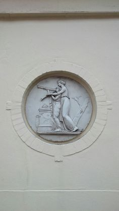 Relief in a Chelsea wall