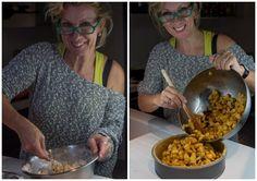 η Σόφη ετοιμάζει την καλύτερη μηλόπιτα του κόσμου