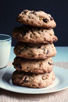 Not your average cookie!  Levain Bakery's Copycat Chocolate Chip Walnut Cookies | URBAN BAKES