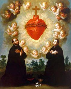 Imagens das 12 promessas do sagrado coração - Pesquisa Google