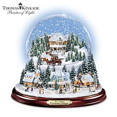 online shopping for The Bradford Exchange Thomas Kinkade Victorian Christmas Village Snowglobe from top store. See new offer for The Bradford Exchange Thomas Kinkade Victorian Christmas Village Snowglobe All Things Christmas, Christmas Time, Christmas Gifts, Xmas, Christmas Ornaments, Thomas Kinkade Christmas, Victorian Village, Musical Snow Globes, Christmas Snow Globes