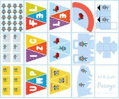 Los duendes y hadas de Ludi: Cumple de Pocoyo 2nd Birthday Party Themes, Birthday Ideas, Blog Fotografia, Party In A Box, Ideas Para, Kids Rugs, Printables, Rainbow, Diy Crafts