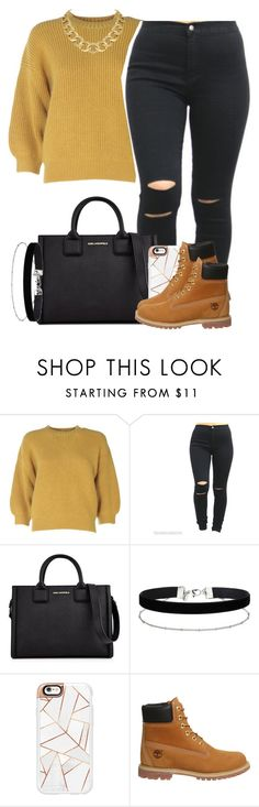 """""""Sans titre #19"""" by kabengeleleslie on Polyvore featuring mode, 3.1 Phillip Lim, Karl Lagerfeld, Miss Selfridge, Casetify, Timberland et House of Harlow 1960"""