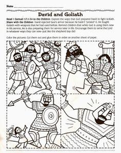 David en Goliath / Davi+e+Golias