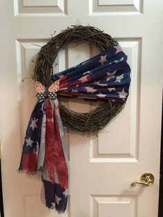 Patriotic Grapevine Wreath 18