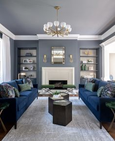 Living Room Table Sets, Living Room Furniture Sale, Blue Living Room Decor, Grey Walls Living Room, Colourful Living Room, Living Room Decor Traditional, Living Room Paint, Living Room Colors, Formal Living Rooms