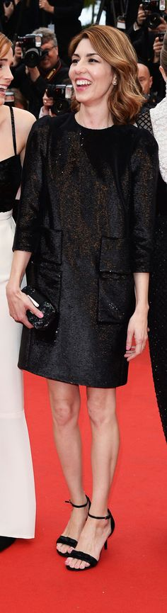 Sofia Coppola in Louis Vuitton at the 66th Annual Cannes Film Festival.