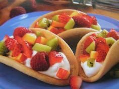 Sugar Cookie Tacos