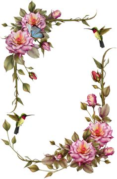 Here you find the best free Vintage Flower Border Clipart collection. You can use these free Vintage Flower Border Clipart for your websites, documents or presentations. Images Victoriennes, Boarders And Frames, Love Frames, Printable Frames, Bird On Branch, Borders For Paper, Floral Border, Vintage Frames, Flower Frame