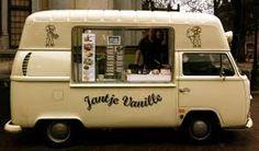 Resultado de imagem para combi food truck Volkswagen Transporter, Vw T1 Camper, T3 Vw, Volkswagen Bus, Campers, Food Trucks, Kombi Food Truck, Ice Truck, Foodtrucks Ideas