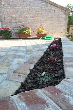 la fioriera con l'irrigazione automatica