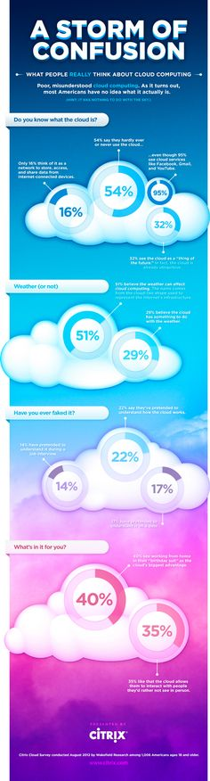 INFOGRAPHIC: Most Americans Confused By Cloud Computing According to National Survey