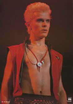 A great poster of Mr Rebel Yell himself - Billy Idol! An original published in 1984. Fully licensed. Ships fast. 23x33 inches. Need Poster Mounts..? bm1724