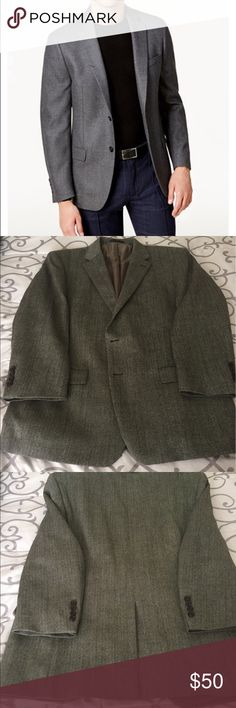 "🏀EUC Ralph Lauren Wool Sports Jacket 46R 1st photo to show fit  100% wool 23"" armpit to armpit  21"" long Middle vent 2 Button  Smoke and pet free environment Lauren Ralph Lauren Suits & Blazers Sport Coats & Blazers"