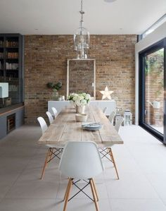 Wood Dining Room Interior